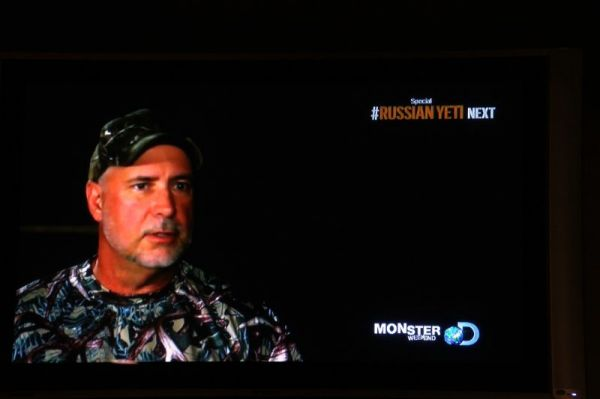 Trapper John on Discovery Channel Ad for Beasts of the Bayou.